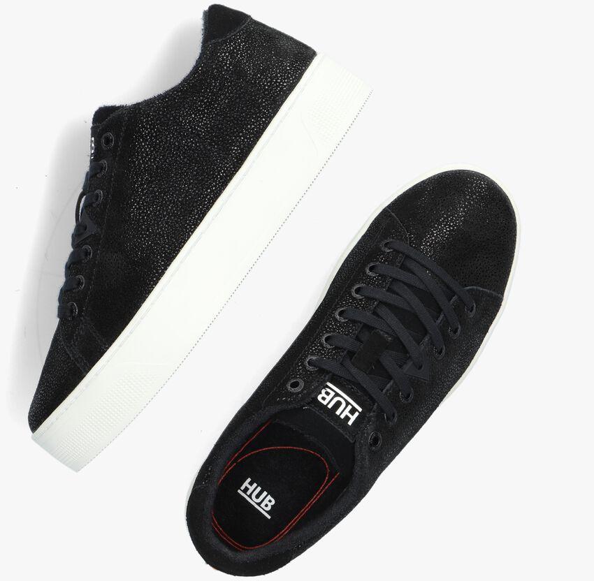 Zwarte HUB Lage sneakers HOOK W PLATEAU  - larger