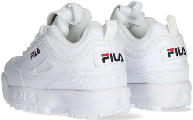 Witte FILA Lage sneakers DISRUPTOR INFANTS  - large