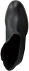 Zwarte SHABBIES Enkellaarsjes 250192  - small