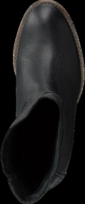 Zwarte SHABBIES Enkellaarsjes 250192  - large
