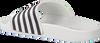 Witte THE WHITE BRAND Slippers STAR WHITE STRIPES  - small
