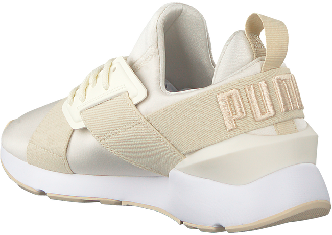 Beige PUMA Sneakers MUSE SATIN II - large
