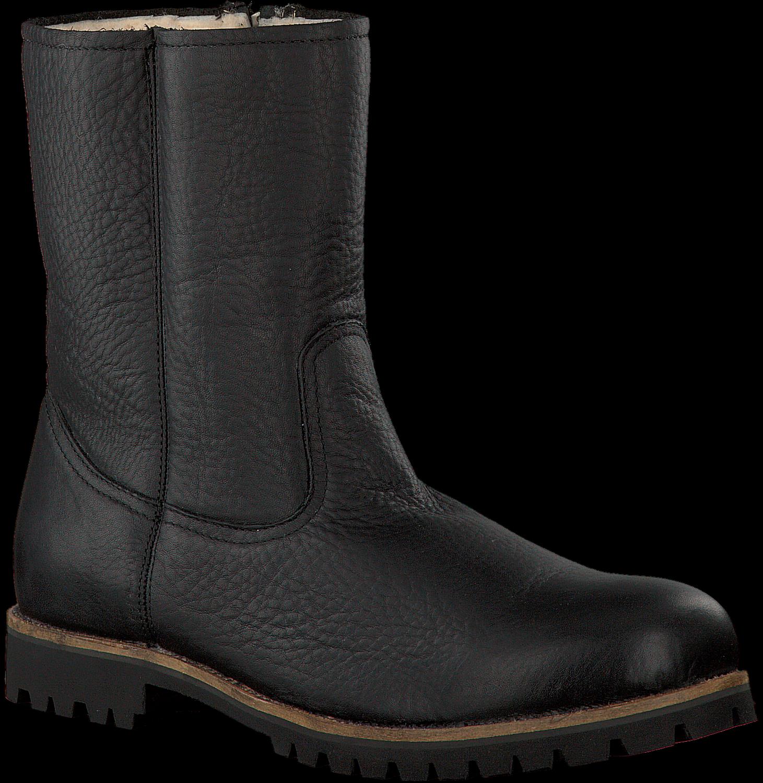 Zwarte BLACKSTONE Lange laarzen OM21 | Omoda