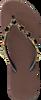 Taupe UZURII Slippers BLACK STAR - small