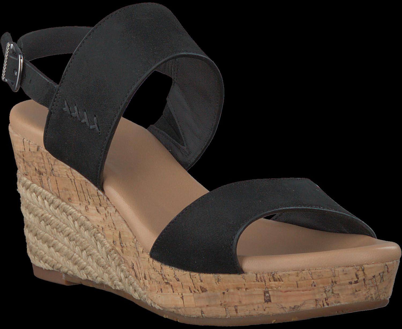 Ugg Australia Sandales Noires 1015098 Elena bOwwz7