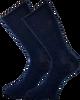 Blauwe MARCMARCS Sokken GWEN 2-PACK LANG - small