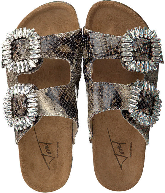 Beige TORAL Slippers 10865  - large