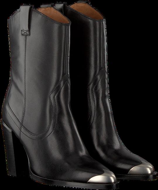 Zwarte BRONX Enkellaarsjes NEW-AMERICANA 34150  - large