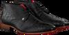 Zwarte REHAB Nette schoenen GREG CROCO  - small