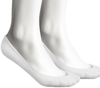 Witte TOMMY HILFIGER Sokken TH WOMEN BALLERINA STEP - medium
