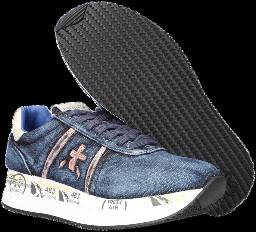 Blauwe PREMIATA Lage sneakers CONNY  - larger