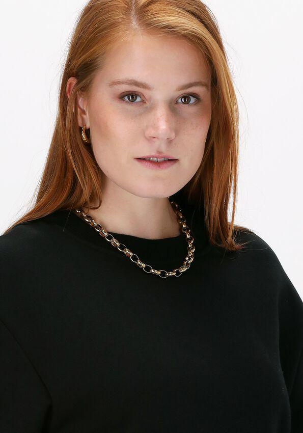 Zwarte LUNE ACTIVE Sweater KYLIE SWEAT  - larger
