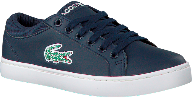 Blauwe LACOSTE Sneakers STRAIGHTSET LACE 118 1 CAC  - large