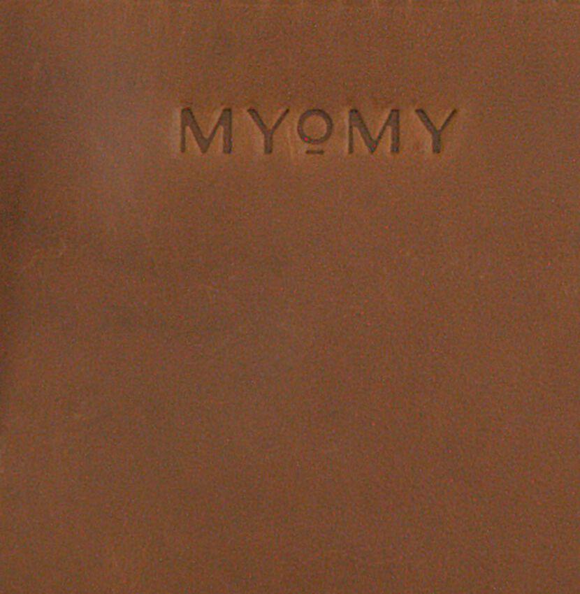 Cognac MYOMY Schoudertas MY BOXY BAG CAMERA - larger