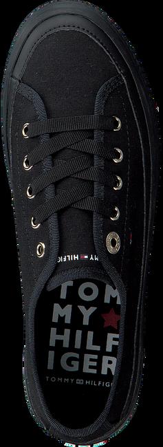 Zwarte TOMMY HILFIGER Sneakers CORPORATE FLATFORM  - large
