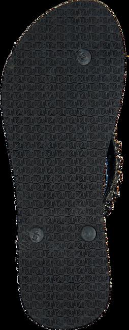 Zwarte UZURII Slippers FLOWER POWER  - large