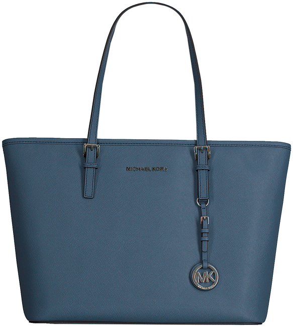 Blauwe MICHAEL KORS Shopper T Z TOTE - large