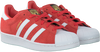 Rode ADIDAS Sneakers SUPERSTAR DAMES  - small