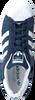 Blauwe ADIDAS Sneakers SUPERSTAR DAMES  - small
