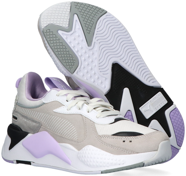 Grijze PUMA Lage sneakers RS-X REINVENT WN'S  - large