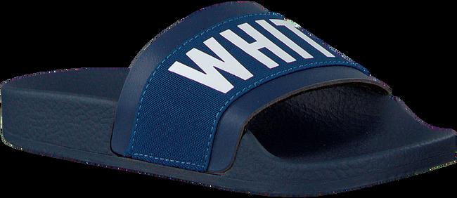 Blauwe THE WHITE BRAND Slippers ELASTIC MINIMAL KIDS - large