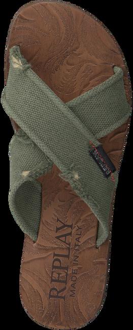 Groene REPLAY Slippers BALTIC  - large