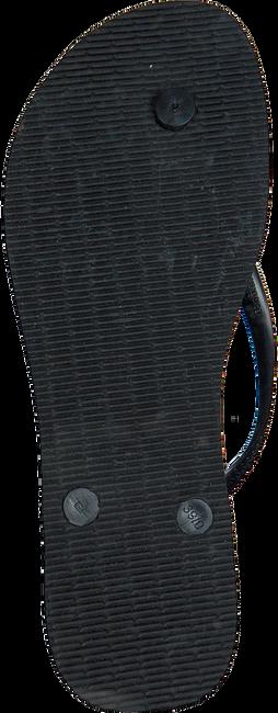 Zwarte HAVAIANAS Slippers SLIM TROPICAL - large