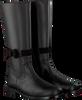 Zwarte CLIC! Lange laarzen 8645  - small