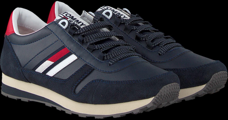 5d3a0fb09e9215 Zwarte TOMMY HILFIGER Sneakers RETRO RUNNER SNEAKER - Omoda.nl