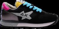 Zwarte SUN68 Lage sneakers ALLY STAR GLITTER LOGO W  - medium