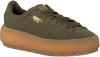 Groene PUMA Sneakers PLATFORM TRACE WMN  - small
