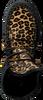 Zwarte KARMA OF CHARME Enkellaarsjes LEO FRONT - small