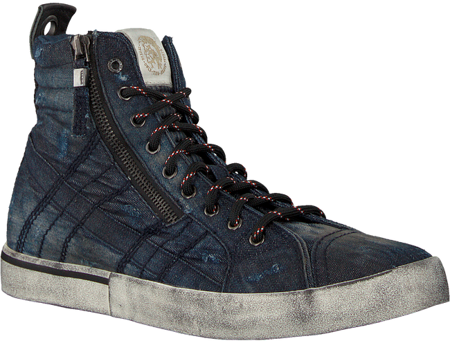 Blauwe DIESEL Sneakers D-VELOWS MID LACE - large
