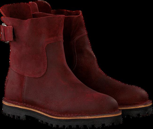 Rode SHABBIES Enkellaarsjes 181020134 - large