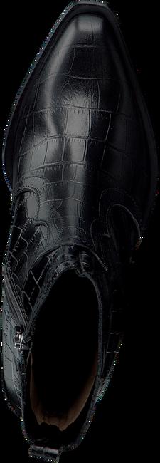 Zwarte NOTRE-V Enkellaarsjes AH22  - large