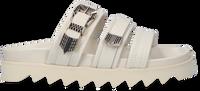 Witte NUBIKK Slippers LAUREN TARO II - medium