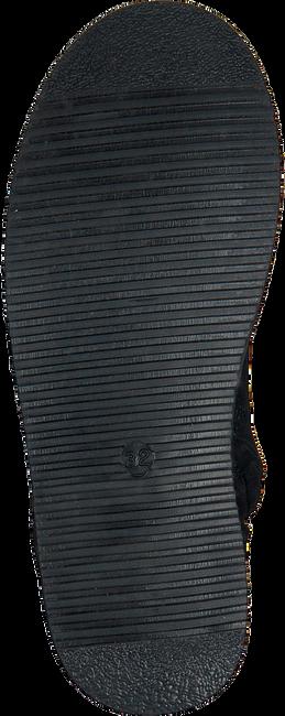 Zwarte GIGA Enkellaarsjes 8704  - large