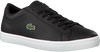Zwarte LACOSTE Sneakers STRAIGHTSET BL1  - small