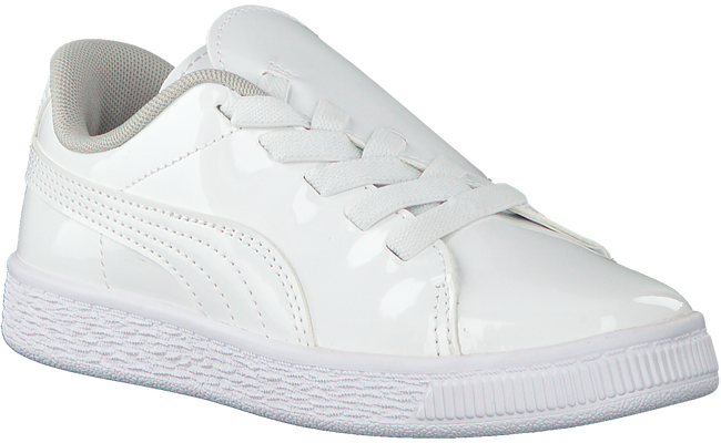 Witte PUMA Sneakers BASKET CRUSH PATENT AC  - large