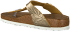 Gouden BIRKENSTOCK PAPILLIO Slippers GIZEH SPECTRAL  - small