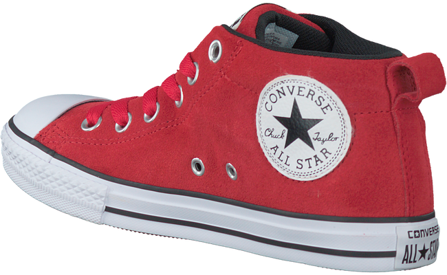 Rode CONVERSE Sneakers CTAS STREET SUEDE  - large