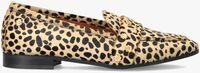 Cognac FABIENNE CHAPOT Loafers LOVER LOAFER STUDS  - medium