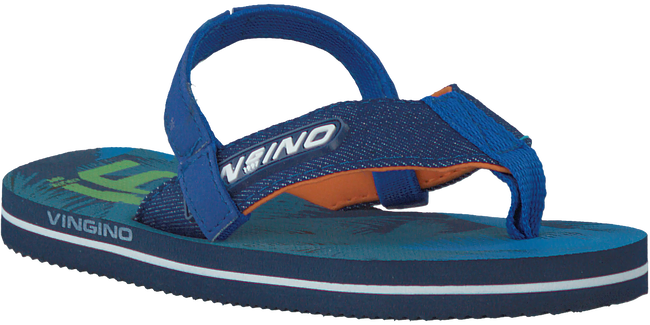 Blauwe VINGINO Slippers JAX INFANTS  - large