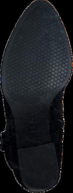 Zwarte GABOR Enkellaarsjes 893  - large