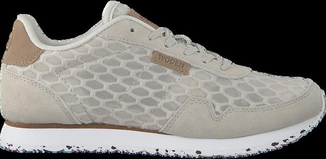 Grijze WODEN Lage sneakers NORA II MESH  - large