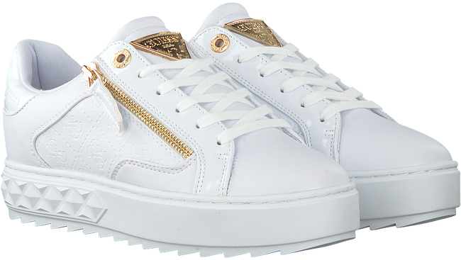 Witte GUESS Lage sneakers FIGGI  - large