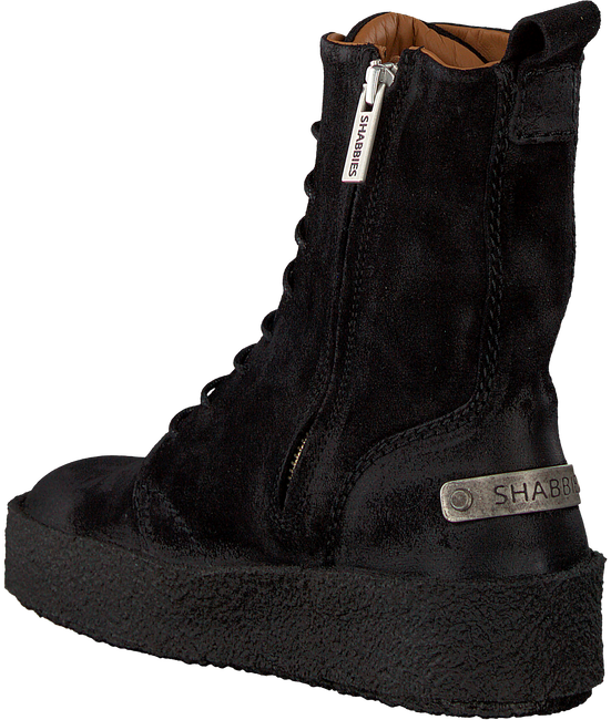 Zwarte SHABBIES Veterboots 184020014 - large