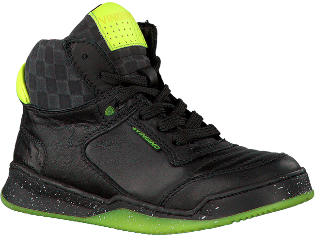 Zwarte VINGINO Sneakers AARON MID  - large