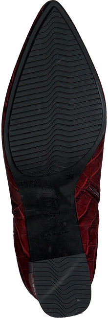 Rode HISPANITAS Enkellaarsjes AMELIA-7  - large