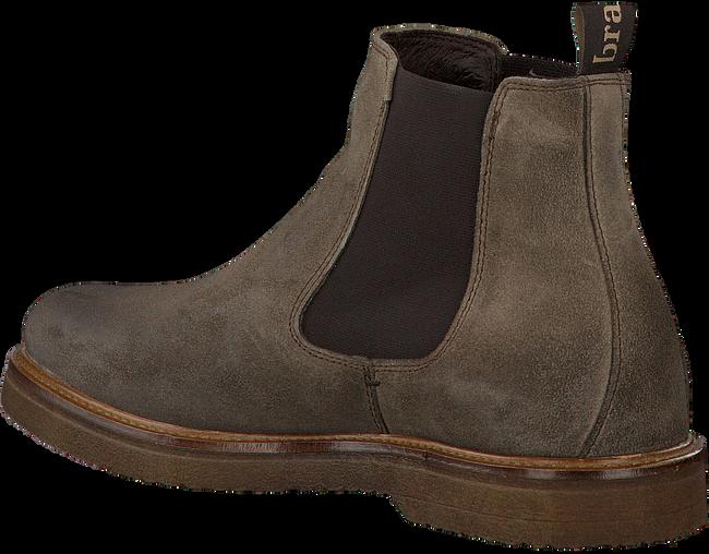 Grijze BRAEND Chelsea boots 24627  - large